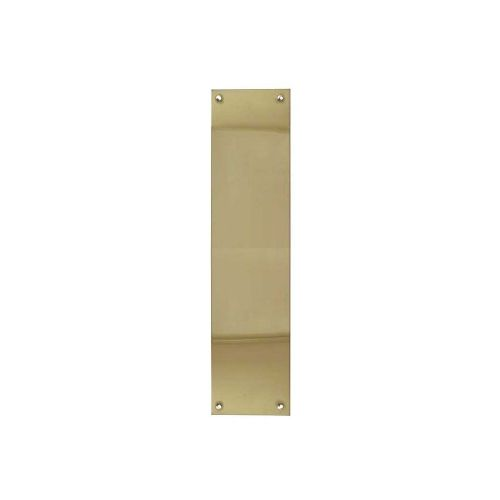 Finger / Push Plates - Polished Brass